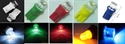 Picture of 10*T10 LED lights New 5 Colours