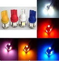 Picture of 2PCS T10 3CHIPS LIGHT 5 SMD LED BULBS 6 colors