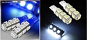 Picture of 2*T10 SMD 13 LED 5050 Lights White/Blue