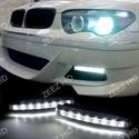 Picture of WHITE 8 LED DAYTIME RUNNING/FOG LIGHTS BUMPER LAMP