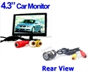 Picture of 4.3 TFT LCD Color Monitor + Car Reversing camera