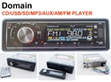 Picture of DOMAIN CAR STEREO CD/MP3/USB/AUX-IN/