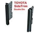 Picture of Toyota Stereo Double Din installation Kit/Sidetrim