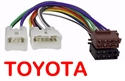 Picture of TOYOTA Radio ISO Harness Stereo Wiring - Female